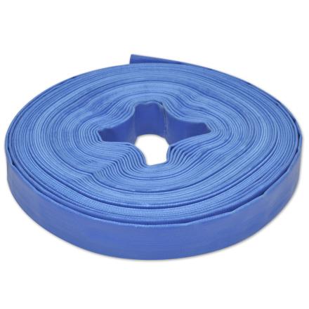 """vidaXL flad slange 25 m 1"""" PVC til transport af vand"""