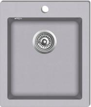 vidaXL Övermonterad diskho granit grå