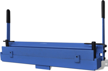 vidaXL Manuellt styrd falsmaskin för metallplåt 630 mm