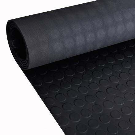 vidaXL skridsikker gulvmåtte af gummi 2 x 1 m prikker