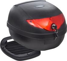 vidaXL Toppbox för motorcykel, 36 L, rymmer 1 MC-hjälm