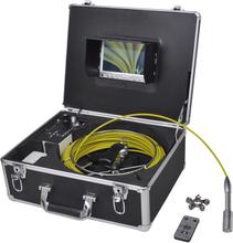 vidaXL Rörinspektionskamera 30 m med DVR kontroll-låda