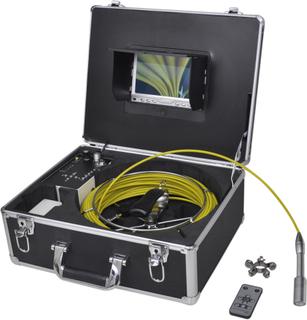 vidaXL Rørinspektionskamera, 30 m, med DVR-kontrolboks