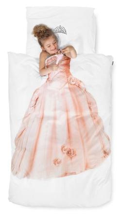 Snurk sengesett – Princess Pink