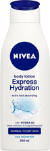 Nivea, Express Moisturising Body Lotion, Normal to Dry Skin 250ml