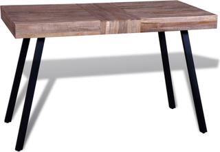 vidaXL bord genanvendt teaktræ