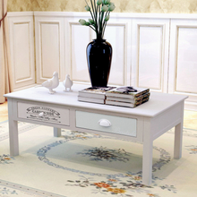vidaXL Soffbord i fransk stil trä