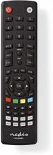 Universal fjernbetjening | Forprogrammeret | Antal enheder: 8 | Klar layout | Infrarød | Sort