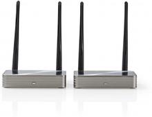 Trådløs HDMI Transmitter | Wi-Fi | 5 GHz | 100.0 m (synsfelt) | Maksimal opløsning: 1080p | 6.75 G