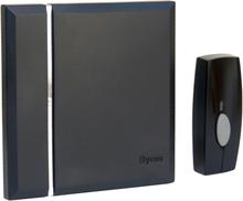 Byron Trådlös dörrklocka med 4 ljudsignaler svart