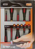 BAHCO Fem st ergonomiskt utformade skruvmejslar Se