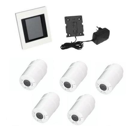 Danfoss Living Connect Pakke m/5 stk termostater og Link styring
