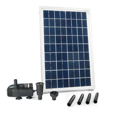 Ubbink SolarMax 600 sæt med sol panel og pumpe 1351181