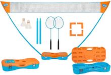 Get & Go badmintonsæt orange/blå 65KA