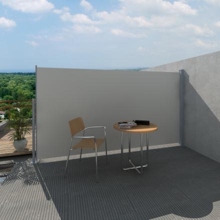 vidaXL Infällbar markis för uteplats 160 x 300 cm gräddvit