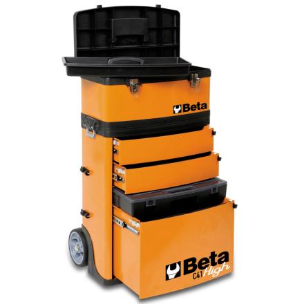"""Beta Tools værktøjsvogn """"C41H/O"""" orange 041000002"""