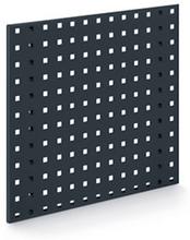Lochplatten anthrazit - 450 x 500 mm