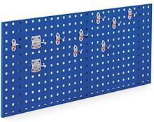 Lochplatten blau - 450 x 1000 mm