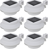 Ytterbelysning LED Vit 6-pack Solcell