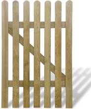 vidaXL Trädgårdsgrind trä 100x150 cm