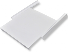 vidaXL Staplingskit för tvättmaskin med utdragbar hylla