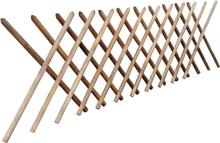 vidaXL Spaljéstaket FSC impregnerat trä 250x100 cm