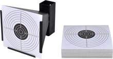 vidaXL Kulfång med 100 måltavlor i papper 14 cm
