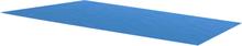 vidaXL Bassengtrekk rektangulært 260 x 160 cm PE blå