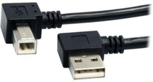 A Right Angle to B Right Angle USB Cable - USB-kabel