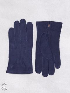 Morris Morris Suede Glove Hansker og votter Blue