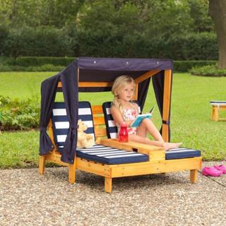 Kidkraft Double chaise lounge fåtölj Kidkraft