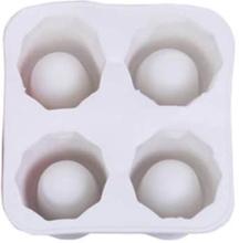 2-Pack Isform Shotglas Bakform Glas Is Iskubsform Silikon