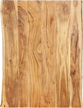 vidaXL Pöytälevy täysi akaasiapuu 80x60x2,5 cm