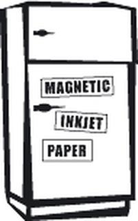 inkClub Magnetpapper, A4, 3 ark matt