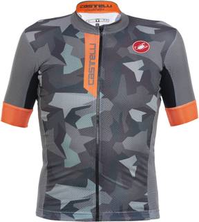 Castelli Exclusive Free AR 4.1 Jersey (Camo) - Cykeltrøjer