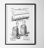 Konstgaraget Patent öl vit