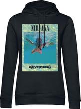 Nirvana - Ripple Overlay -Hettegenser - svart