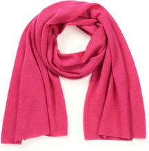 Sjaal 100% kasjmier Van Peter Hahn Cashmere roze