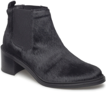 Town Chelsea Shoes Boots Ankle Boots Ankle Boots With Heel Svart Royal RepubliQ