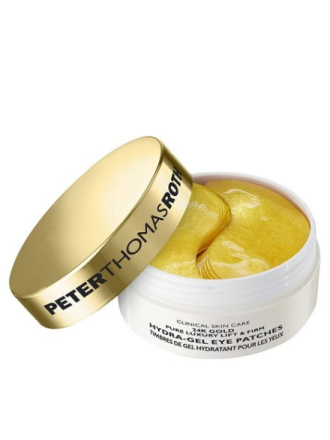 Peter Thomas Roth 24K Gold Pure Luxury Lift Firm Hydra Gel Eye Patches Transparent