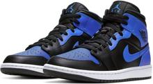 Air Jordan 1 Mid Shoe - Black