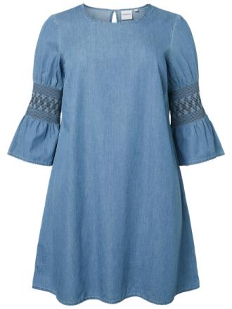 JUNAROSE Chambray Dress Women Blue