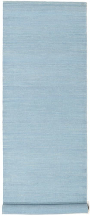 Kelim Loom - Ljusblå matta 80x300 Modern, Avlång Matta