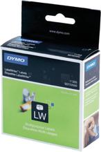 DYMO LabelWriter hvide etiketter, 51x19 mm, 1-pack (500 stk.)