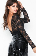 NLY Trend Scoop Back Lace Body Bodys