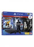PlayStation 4 1TB + Playstation Hits (U4, Ratchet & The Last Of Us)