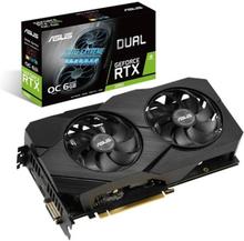 Asus Dobbelt Geforce Rtx 2060 6GB Oc Evo Grafikkort