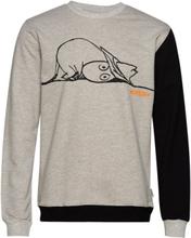 Sweatshirt Our Sea Sweat-shirt Genser Grå Mumin