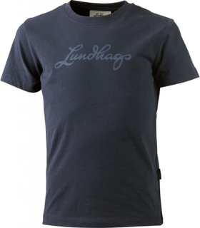 Lundhags Lundhags Jr Tee Barn kortermede trøyer Blå 122-128