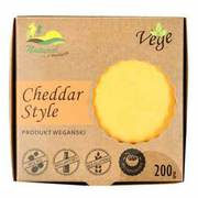 Natural - Vege Cheddar Style produkt wegański